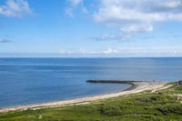 Blick vom Klippenrandweg auf die Nordsee, Helgoland