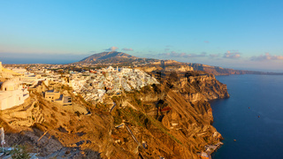 Panorama of Santorini