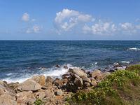 Küste am Cap Lévi