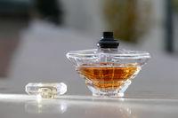 Opened Perfume bottle