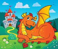 Lying dragon theme image 2