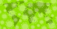 Weltkarte Corona-Virus-Pandemie
