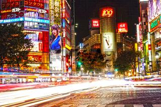 Shibuya of scenery (HDR)