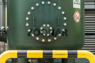Behälter für Biogas