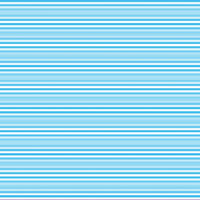Horizontal stripes in light blue and white