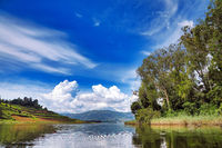 Kratersee Lake Bunyonyi, Uganda | Lake Bunyonyi, Uganda