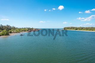 Wasserstraße zwischen den Inseln Ko Lanta Noi und Ko Lanta Yai