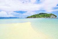 Sandbank vor der Insel Kri Raja Ampat