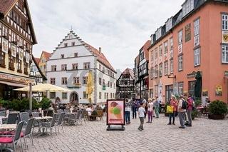 Altstadt von Schmalkalden In Thüringen