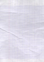 Old worn lined paper texture background