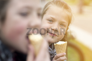Enjoy ice-cream