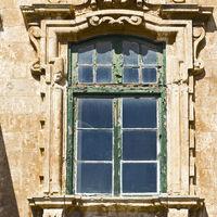 Maltese window in Valletta