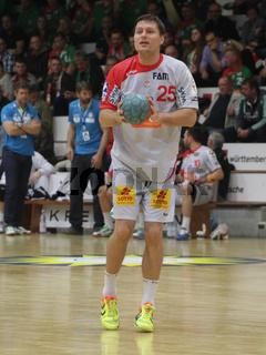 slowenischer Handballer Marko Bezjak vom SC Magdeburg DHB DKB Handball-Bundesliga-Saison 2014/15