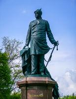 Bismarck statue in Berlin, Germany