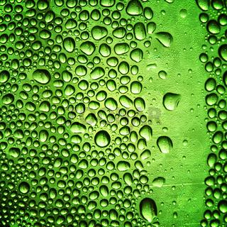 macro water drops close up