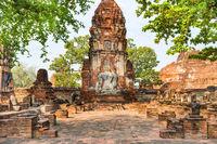 Ruins of old Siam capital Ayutthaya