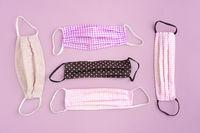 Corona covid-19 fabric face masks