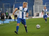 deutscher Fussballer Andreas Müller 1.FC Magdeburg DFB 3.Liga Saison 2020-21