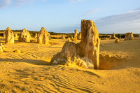 Pinnacles Desert in western Australia