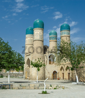 Chor-Minor minaret, Bukhara, Uzbekistan