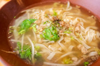 Taiwanese traditional soup noodles