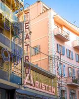 Sanremo Ariston theatre, the famous song festival location