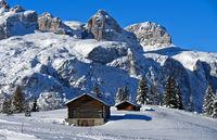 Sellastock im Winter