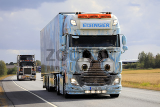 Eisinger DAF XF 106 Ice Age in Convoy