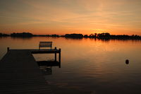 Abendruhe am See, Heiligenhafen