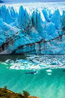 Surface of the glacier Perito Moreno