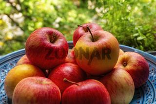 Äpfel aus biologischem Anbau