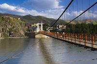 Brücke des Friedens in Feyzabad