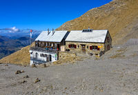 Wildstrubelhütte SAC, Lenk, Berner Oberland, Schweiz