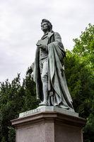 Schiller Monument in Frankfurt