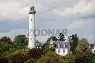 Bretagne-Leuchtturm in Benodet