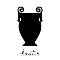 spiral krater silhouette