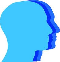Gesichter, Köpfe, Menschen, Logo, Icon