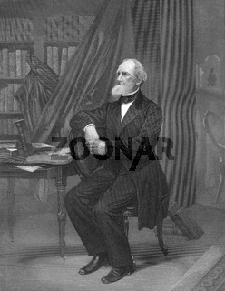 Fitz-Greene Halleck, 1790 - 1867, an American poet