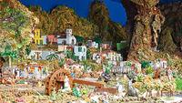 Christmas Belen -  Life of ancient Bethlehem in miniature