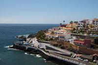 Punta Blanca in Puerto de Santiago, Los Gigantes, Teneriffa, Kanarische Inseln, Spanien, Europa