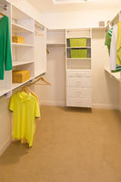 Spacious Walk-in Closet In Home