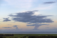 Impressive skies over Friesland as seen from the island of Terschelling