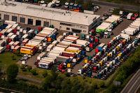 Truck Store in Recklinghausen im Gewerbegebiet Ortloh in Nordreihn-Westfalen