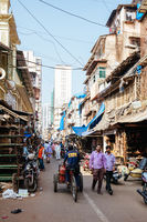 Chor Bazaar in Mumbai India