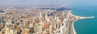 Chicago cityscape panorama