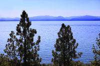 clean waters of Lake Tahoe, USA