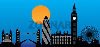 London skyline England city