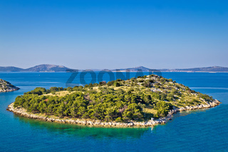 Small island in archipelago of Croatia