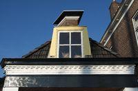 Dachgaube in Friesland, Niederlande