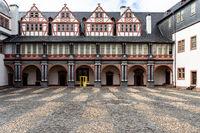Renaissencehof im Schloss Weilburg
